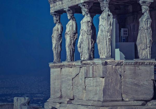 Exploring The Acropolis In Athens Greece